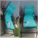 patio lounge chair in Joliet, Illinois