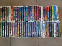 Lot Of 55 Kids VHS Tapes in 29 Palms, California