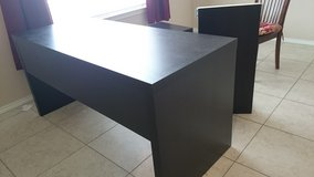 Desk, pull out table. Black. IKEA in Baytown, Texas