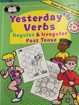 Special Needs Workbook: Yesterday's Verbs in The Woodlands, Texas
