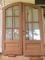 Solid Oak Doors - arched in Byron, Georgia