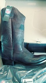 Mens seattle seahawks leather boots in Fort Campbell, Kentucky