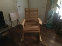 2 Wooden Handmade Rocking Chairs in Macon, Georgia