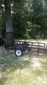 5' × 8' Utility Trailer in Warner Robins, Georgia