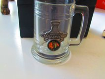 Blackhawks 2013 Stanley Cup Champions Beer Mugs in Orland Park, Illinois