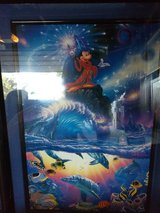 Sorcerer of the sea painting in Camp Pendleton, California