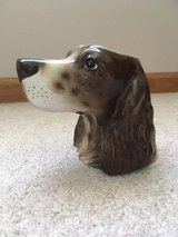 Dog Head Vase in Joliet, Illinois