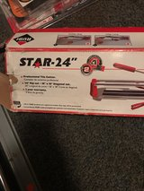 "Rubi Star 24"" Tile Cutter in Macon, Georgia"