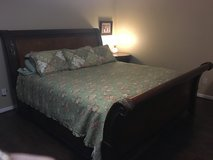 King size sleigh bed in Kingwood, Texas