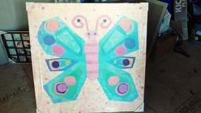 Oopsy daisy beautiful jewel butterfly canvas in Fort Campbell, Kentucky