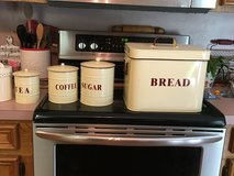 Bread box and canister set in Conroe, Texas