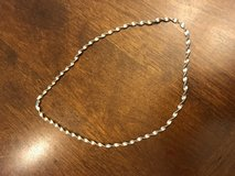 Reduced: 18 inch Silver Rope Necklace in Chicago, Illinois