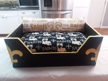 Saints Medium sized dog or cat bed in Keesler AFB, Mississippi