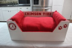 Alabama Crimson Tide Medium sized dog or cat bed in Keesler AFB, Mississippi