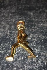 Vintage Brass Hessian Soldier by Virginia Metalcrafters in Kingwood, Texas