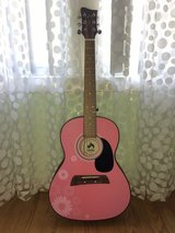 Fuel By First Act Designer Pink Acoustic Guitar in Camp Lejeune, North Carolina