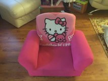 Hello Kitty chair in Okinawa, Japan
