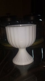 Milk Glass - Footed Bowl in Westmont, Illinois