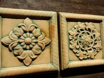 2 terracotta wall hangings in Bolingbrook, Illinois