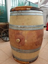 French Red Wine Barrel in Ramstein, Germany