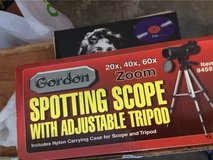 Gordon Spotting Scope w/ Adjustable Triopod in Fort Campbell, Kentucky