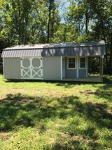 12x28 Cabin Style Storage Shed in Murfreesboro, Tennessee