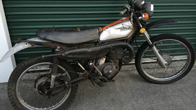 1975 mt125 Elsinore on off road motorcycle w/title in Goldsboro, North Carolina