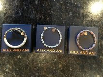 Set of 3 Alex and Ani braclets in Plainfield, Illinois