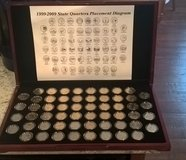 State Quarter collection in St. Louis, Missouri