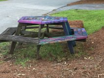 Free Picnic Table in Macon, Georgia