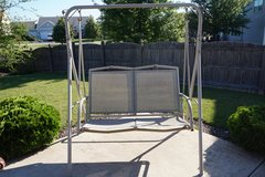 Outdoor Swing in Lockport, Illinois