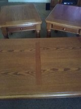 3 piece tables  coffee table and 2 end tables in Belleville, Illinois
