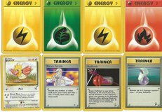 Pokemon trading cards and playing cards in Cherry Point, North Carolina