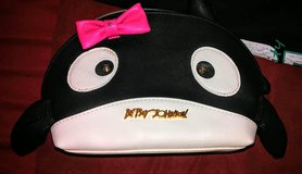 Betsey Johnson Whale Cosmetic Purse in Fort Bliss, Texas