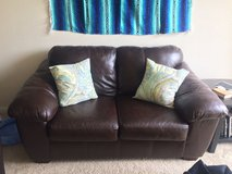 Leather couch - Love Seat (Mission Valley) in San Diego, California