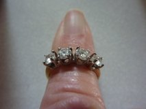 SALEM, Mo. DIAMOND ENGAGEMENT & WEDDING RINGS SET; 1-CT. EA. RING; MATCHED; NEW in Fort Leonard Wood, Missouri
