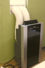 Portable Air Conditioner with Heater in Byron, Georgia