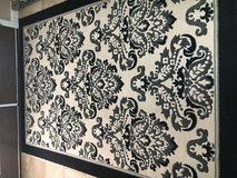 5x8 area rug black & tan in Fort Polk, Louisiana