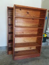 2 Each, Heavy Duty Solid Pine Bookshelves, (This Ends Up Furniture Store) in Warner Robins, Georgia