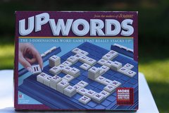 Upwords game in Cherry Point, North Carolina