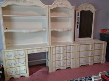 Stanley White Yellow Floral Bedroom Set in Chicago, Illinois