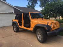 2012 Jeep Rubicon Unlimited 4X4 in Tinker AFB, Oklahoma