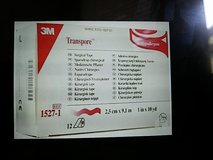 """3M TRANSPORE Clear Surgical Tape 1"""" x 10yd-(case of 120) in Baytown, Texas"""