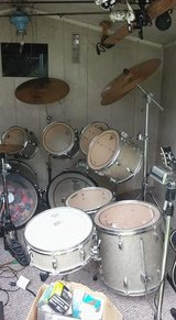 professional Tama drum set in Cherry Point, North Carolina