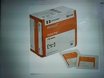 Webcol Alcohol Prep Pads, Large,2-ply-case of 4000 in Baytown, Texas
