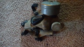 old gas mask from the war in Cherry Point, North Carolina