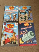 Phineas and Ferb Chapter Books in Okinawa, Japan