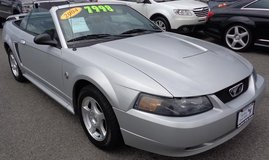 2004 Ford Mustang 40th Anniversary Convertible 2dr in Fort Lewis, Washington