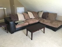 Couch- L shaped. in Fort Campbell, Kentucky