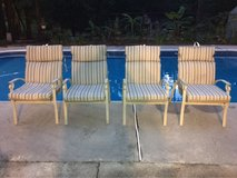 patio chairs with new cushions in Warner Robins, Georgia